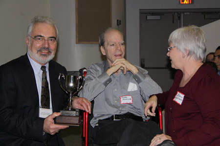 Jean Pascal Souque, Johanne and Larry Haffner.