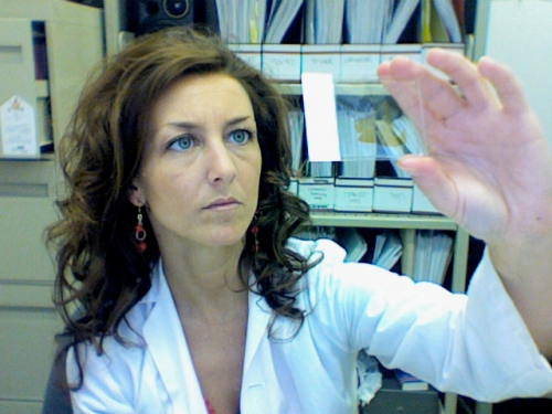 Neuro-biologist Francesca Cicchetti is investigating the way damaged alpha-synuclein travels from cell to cell, spreading Parkinson's disease.