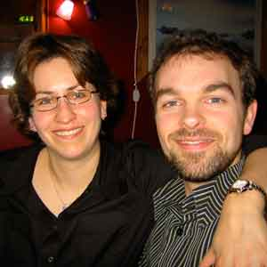 Dr. Jean-François Trempe and his wife Véronique Sauvé in earlier days in Oxford. Both were lead authors on a significant paper on Parkinson's disease research, published in Science in 2013.